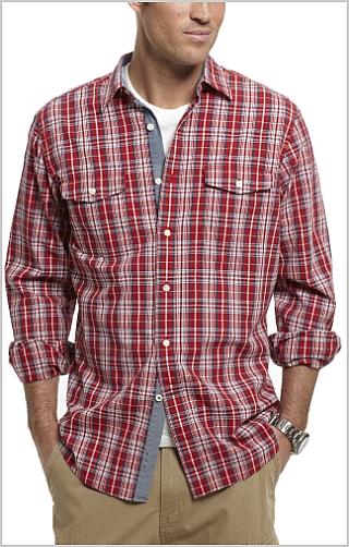 Camisa Nautica Rojo - Compra Ahora   Dafiti Colombia