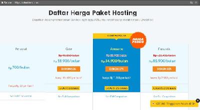 promo hosting murah hari ini IDwebhost.com