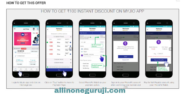 Jio Discount offer kaise paye