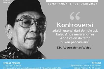 Kelas Pemikiran Gusdur II. Gusdurian Kota Semarang