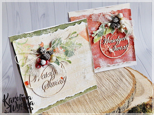 Jeszcze dwie kartki świąteczne