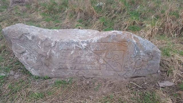 'Pictish' stone discovered in north of Scotland