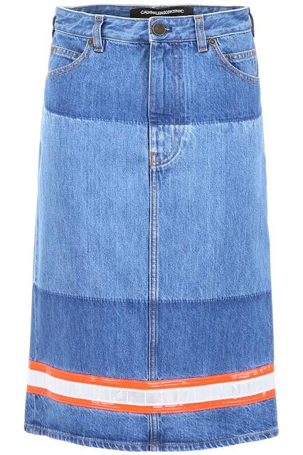 Denim Skirt by: Calvin Klein 205W39NYC (RMNOnline.net)