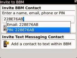 Cara praktis memperbanyak contact BBM