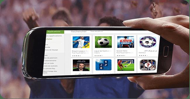 يمكنك بكل سهولة تحميل أفضل العاب كرة القدم الجديدة للاندرويد مجانا 2019