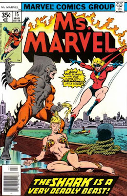 Ms Marvel #15, Tiger Shark