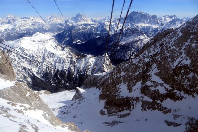 sciare sulla marmolada