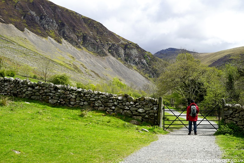 Visiting The Aber Falls in North Wales