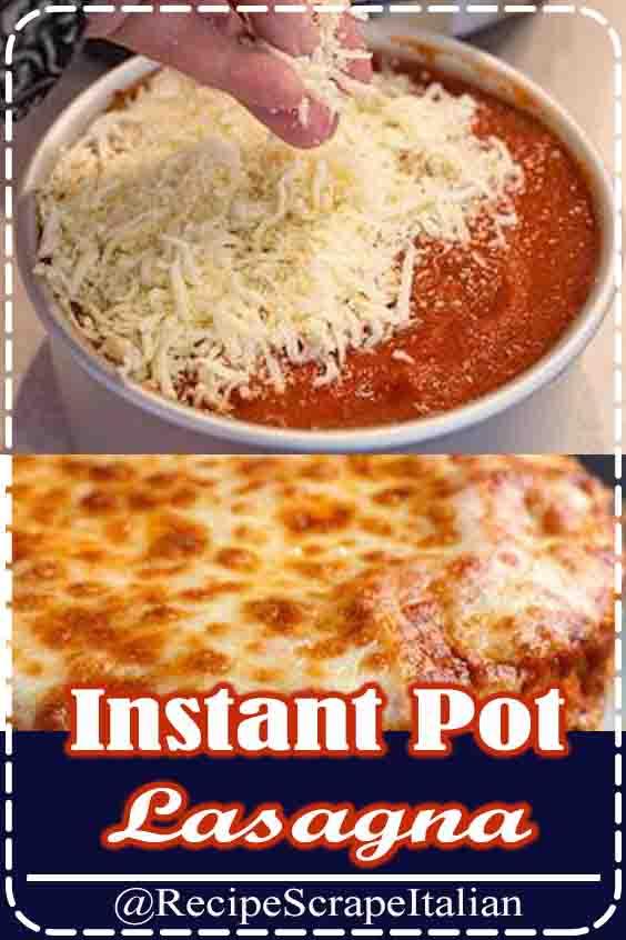 Instant Pot Lasagna #recipe #goodeat #instantpot