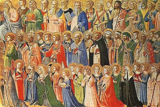 1 de novembro: Dia de Todos os Santos