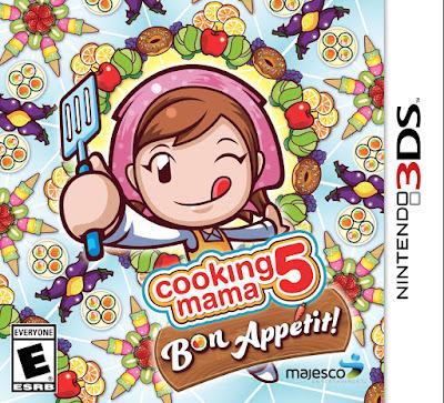 Cooking Mama 5 Bon Appetit CIA 3DS USA
