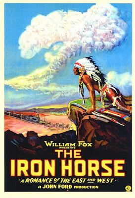 Póster película El caballo de hierro