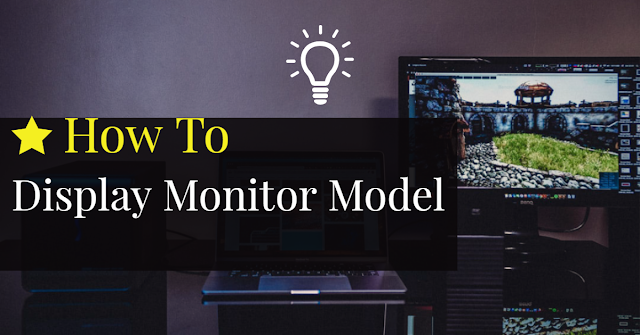 Display Monitor details on windows 10