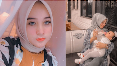 Meski Begitu Cantik, Wanita Ini Ditinggalkan Suami Demi Pelakor setelah Melahirkan