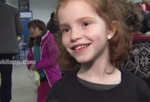 Girl, 6, raises $90K to help cure big brother's genetic disorder