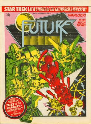 Future Tense #17, Micronauts