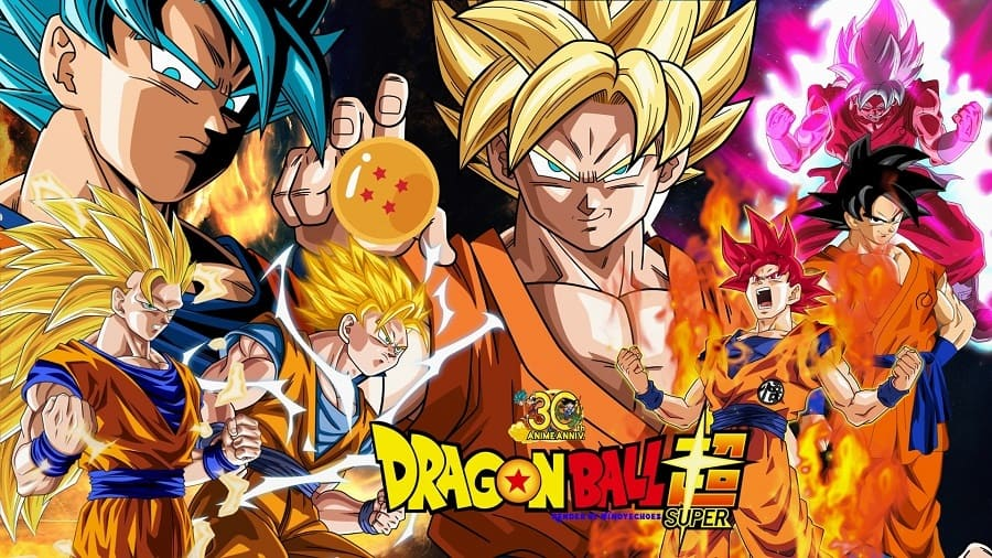 Dragon Ball Super - Completo 2017 Anime Desenho 1080p 720p FullHD HD HDTV WEBrip completo Torrent