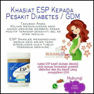 ESP untuk kencing manis