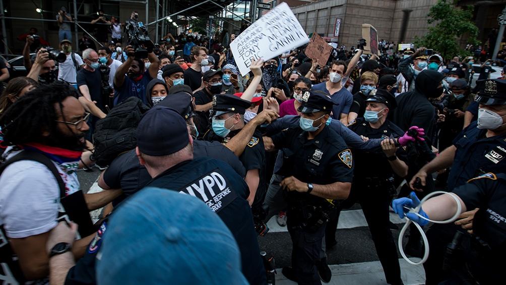 Protestas en Estados Unidos por la muerte del afroamericano George Floyd