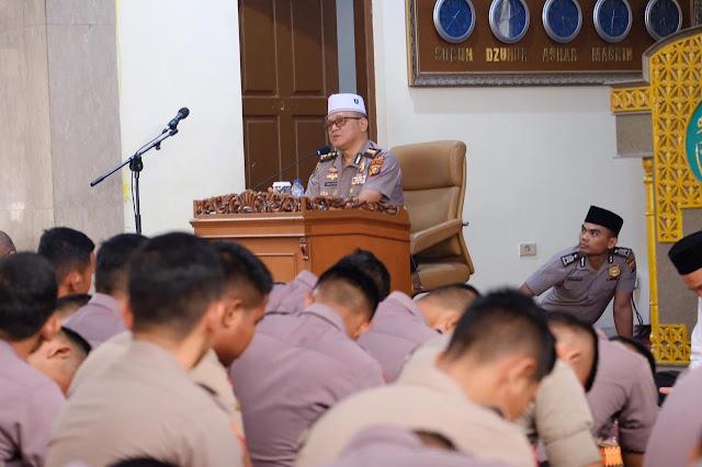 Peringati Tahun Baru Islam, Polda Riau Do'akan Kedamaian Masyarakat Papua