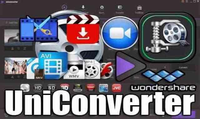 تحميل وتفعيل Wondershare UniConverter برنامج أدوات الفيديو الشامل اخر اصدار