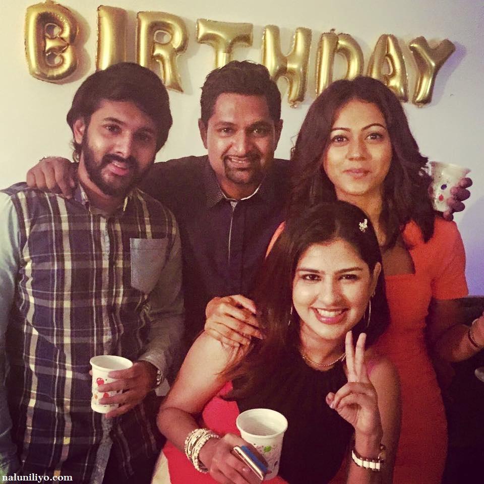 iraj birthday party