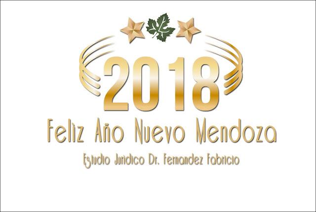 Feliz año nuevo 2.018 - Estudio Jurídico Dr. Fernandez Fabricio
