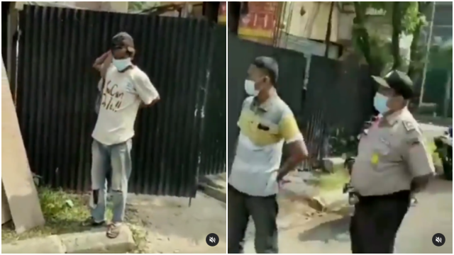 Viral Pekerja Bangunan Dikeluarkan karena Tak Pakai Masker, Netizen Menaruh Iba