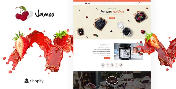 Best Organic Fruits Jam Store Shopify Theme