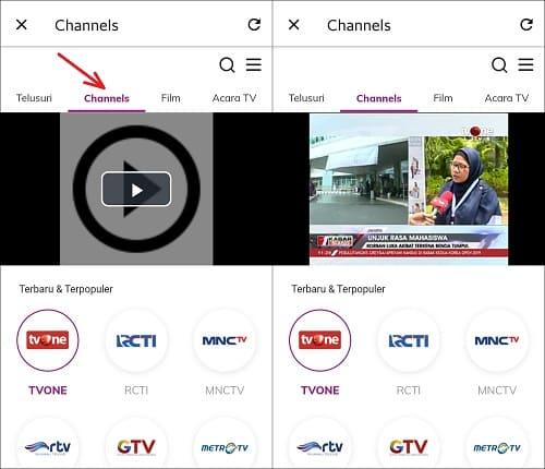Cara Nonton TV di Aplikasi Grab Tanpa Buffering