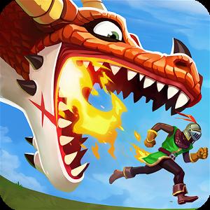 لعبة Hungry dragon مهكرة للاندرويد (بدون فك الضغط)