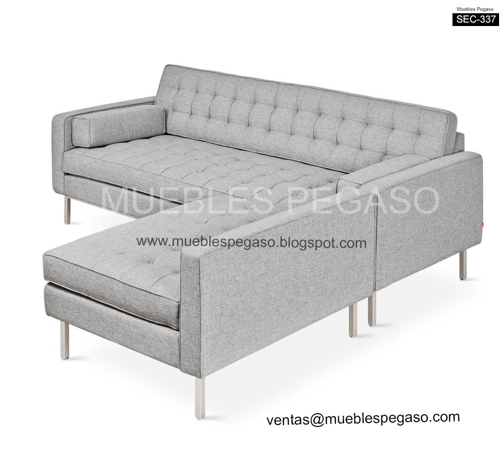 Muebles pegaso sofas seccionales de dise o - Disenos de sofas ...