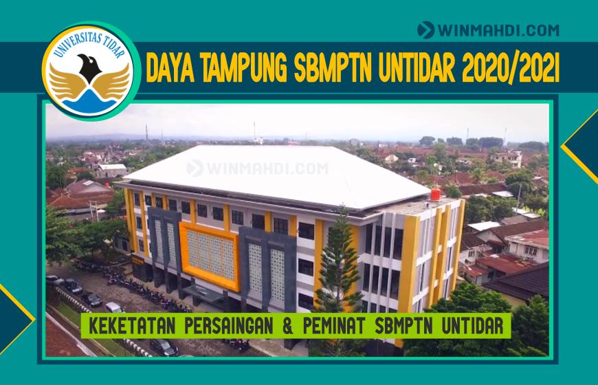 DAYA TAMPUNG SBMPTN UNTIDAR 2020-2021