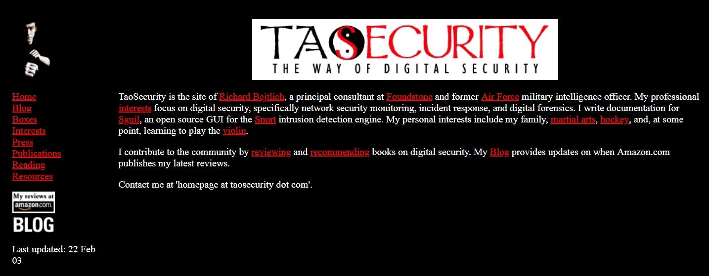 TaoSecurity