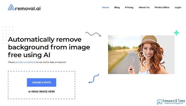 Removal.AI : un super outil en ligne pour supprimer rapidement l'arrière plan d'une photo