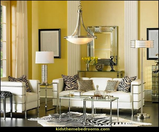Living Room Console Tables Mirrored Chairs Ethan Allen Decorating Theme Bedrooms - Maries Manor: Hollywood Glam ...