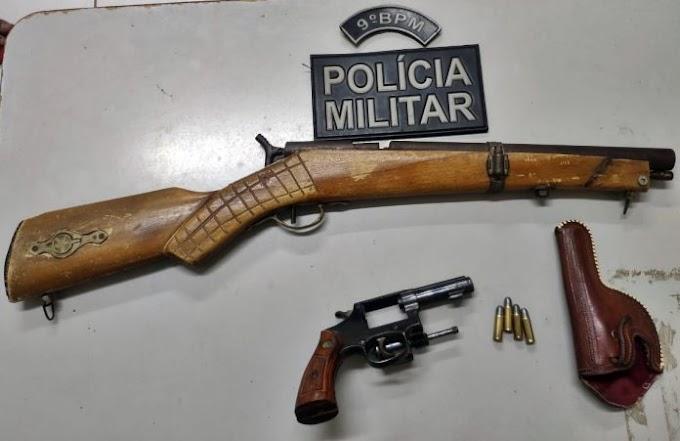 Jovem é detido por posse de arma de fogo em São Vicente do Seridó/PB