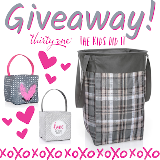 ThirtyOne Gifts February Storage Solutions Giveaway ~ Ends 2/25