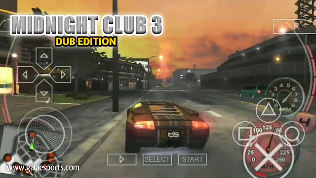WOw! Game Balap PPSSPP Midnight Club 3 For Android