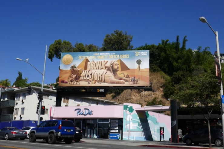 Drunk History 3 Emmy nominations billboard