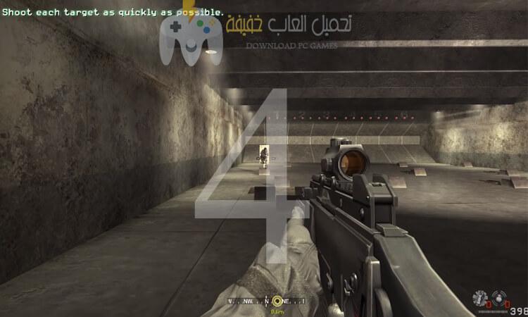 تحميل جميع اجزاء لعبة Call of Duty للكمبيوتر 4