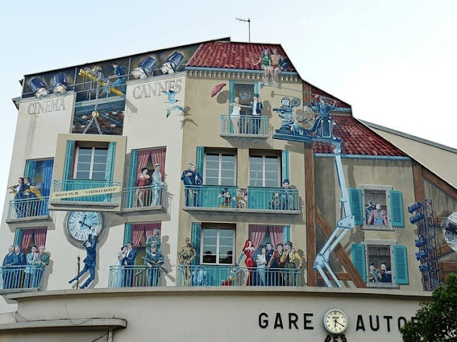 Casa com murais