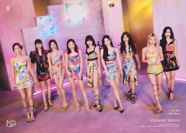 Twice hace comeback en junio del 2021 con Taste of Love