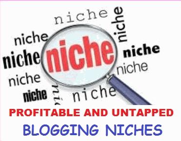 Untapped blogging niches in nigeria