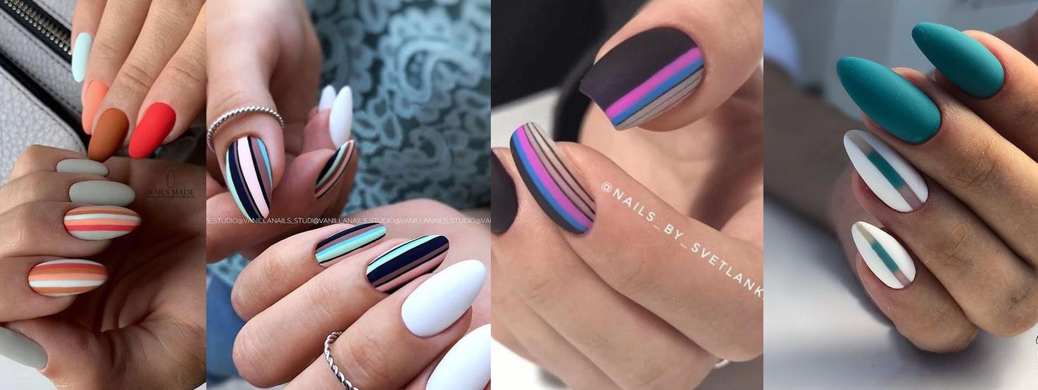 tendência em nail art para primareva verão 2021 unhas graficas