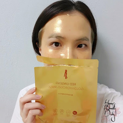 Review; My Beauty's Red Ginseng Gold Hydrogel Mask