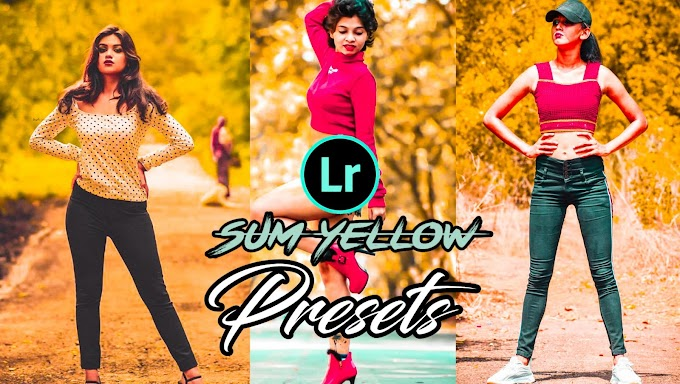 Sum Yellow Lightroom Presets
