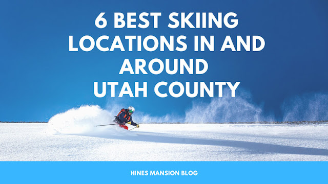 The 6 Best Skiing Locations In and Around Utah County blog cover image
