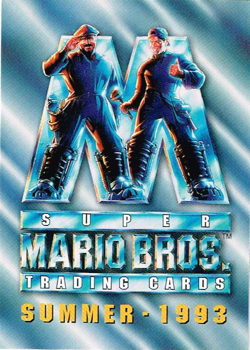 20 Years Before 2000 Super Mario Bros Skybox Movie Cards