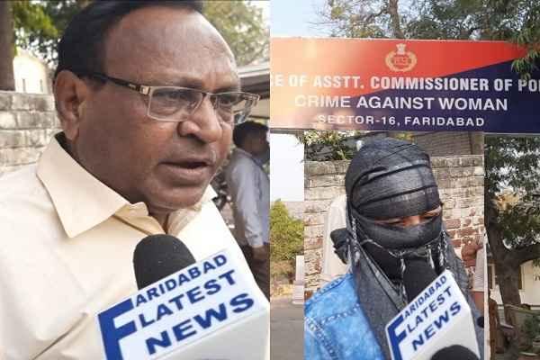 ashok-kalia-arrested-and-send-nimka-jail-women-police-sector-16-faridabad